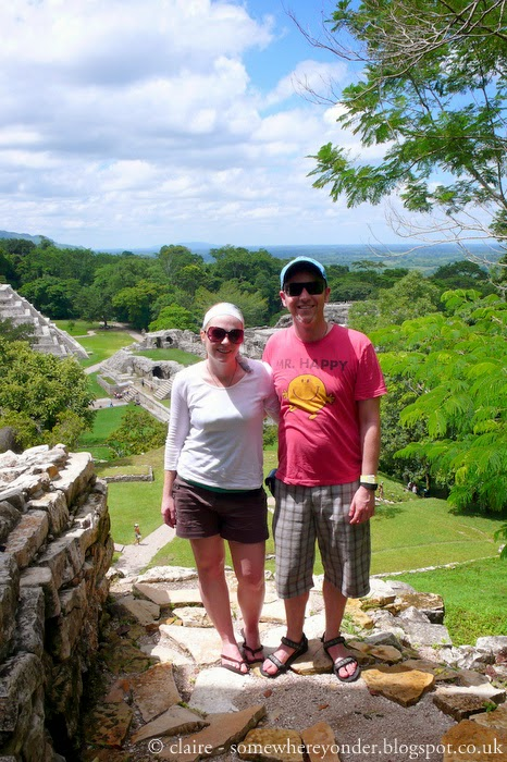 hubby and I (5 years prior to marriage) in Palenque, Mexico