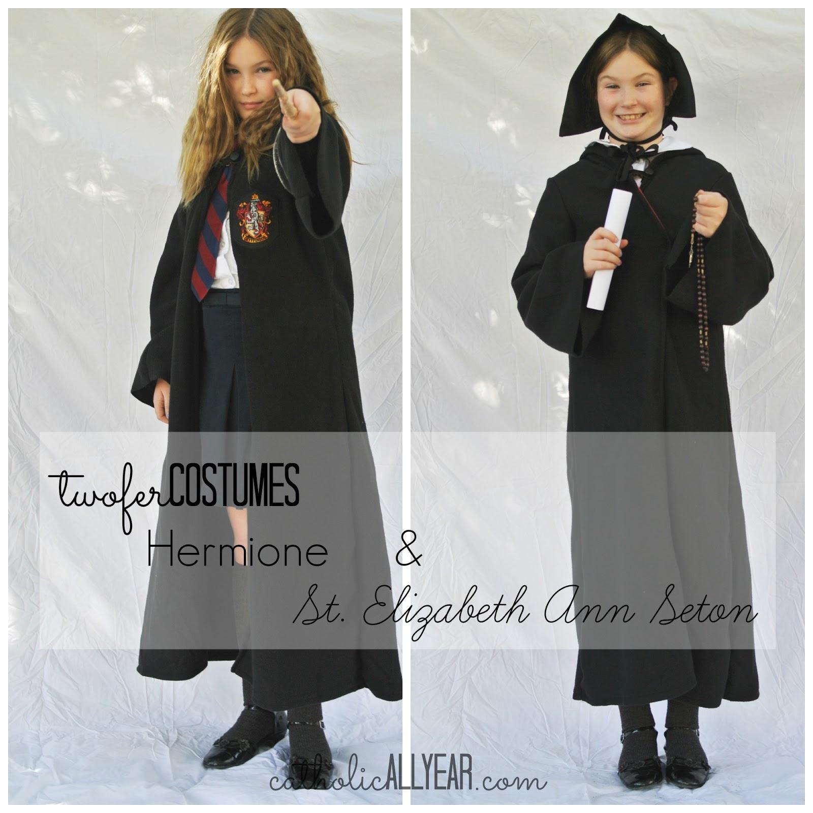 Catholic saint costumes