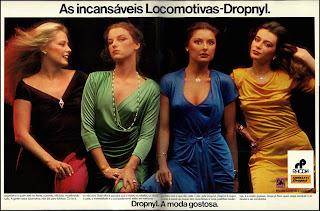 anúncio tecidos marca rhodia de 1979