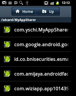 Mengambil APK dari Aplikasi Android yang sudah Terinstall dengan MyAppSharer di SDCard