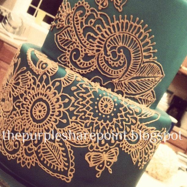Mehndi Cake Topper : Best icing designs images on pinterest cake toppers