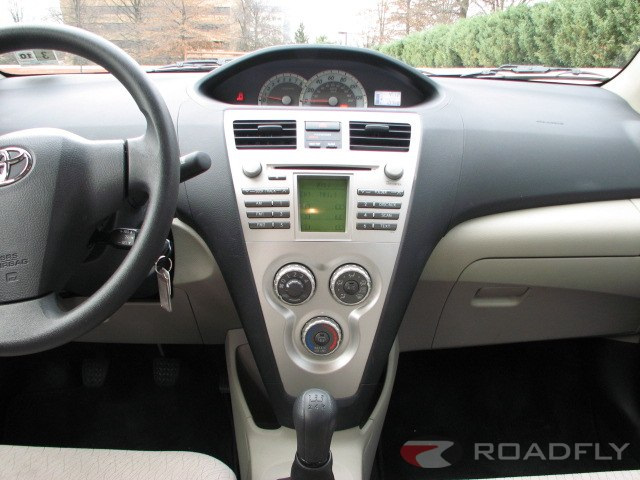 2011 Toyota Yaris Interior and Controls Spartan, functional and just barely