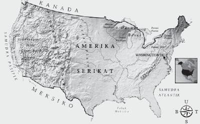 Negara Maju Amerika Serikat : Letak Geografis, Letak Astronomis, Keadaan Alam Dan Batas Wilayah Serta Jumlah Penduduk Negara Amerika Serikat