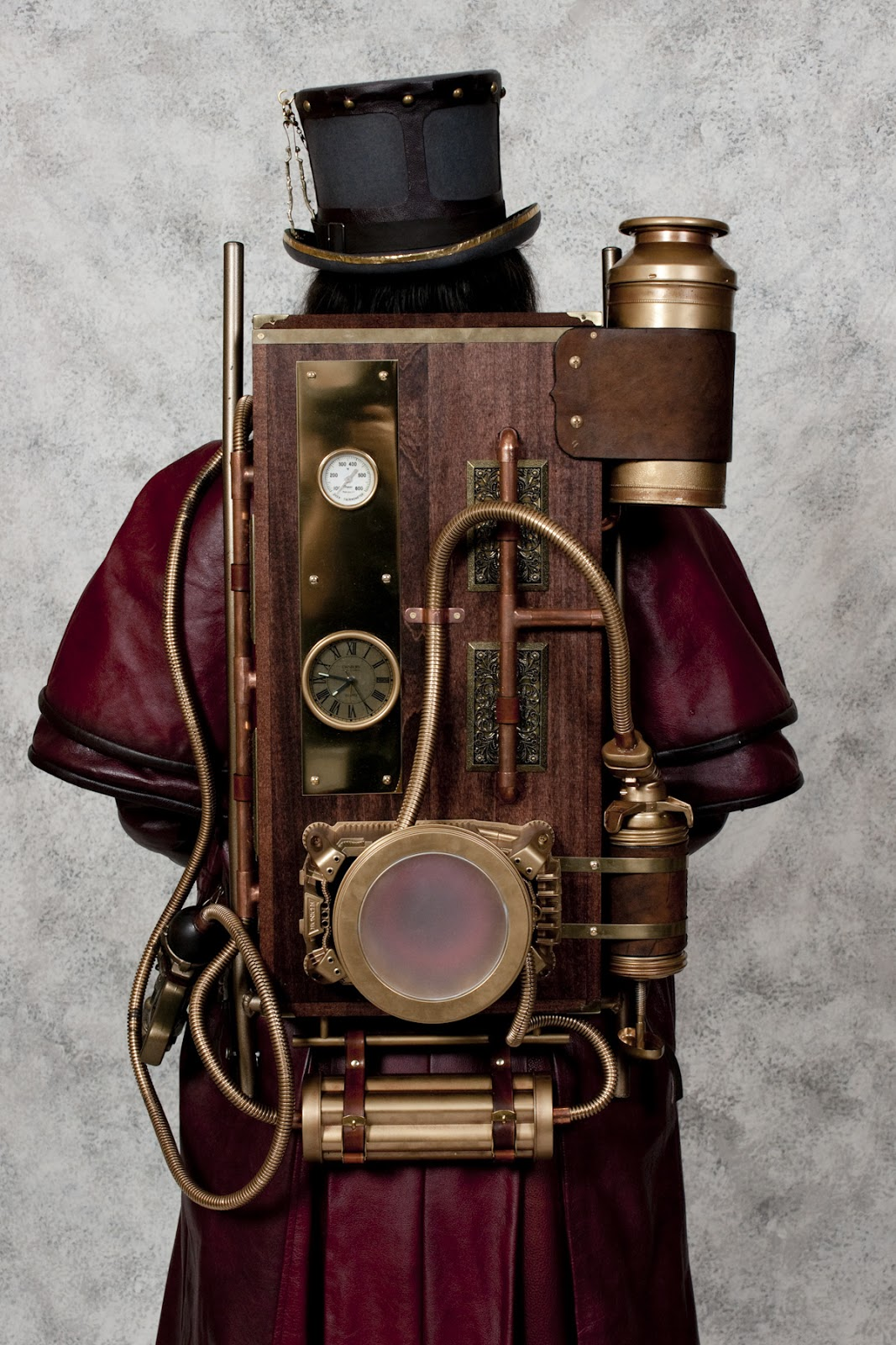 Chronicle Of A Lady Steampunk Backpack Inspiration