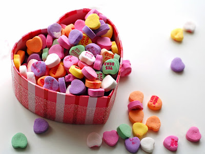 Saint Valentines Day Candy Valentine Day