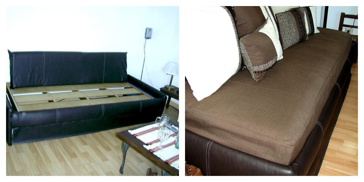 La transformaci n del sill n cama artesana for Mercadolibre sillon cama una plaza