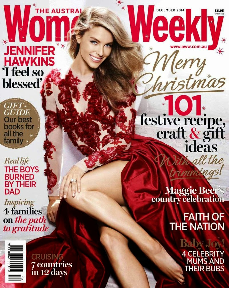 Jennifer Hawkins - Womens Weekly Magazine, Australia, December 2014
