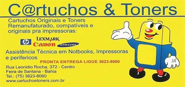CARTUCHOS E TONERS