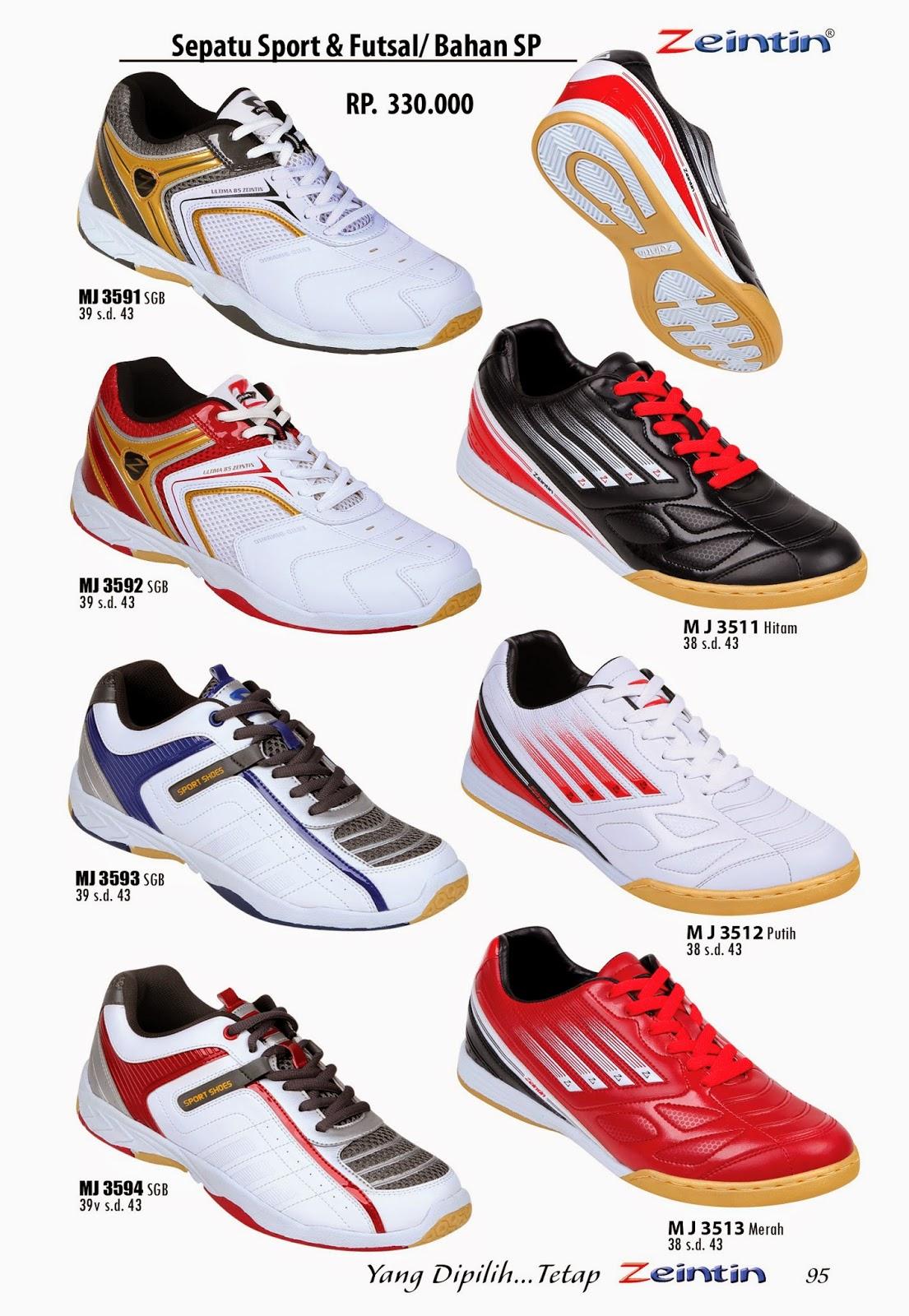 Sepatu Olahraga Zeintin dari katalog edisi Brilian 11