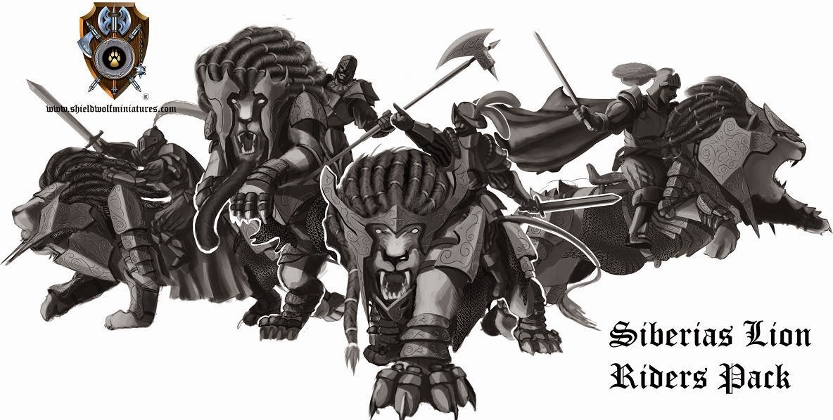 Giveaway from Shieldwolf Miniatures