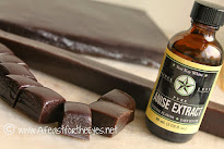 Easy Black Licorice Caramels
