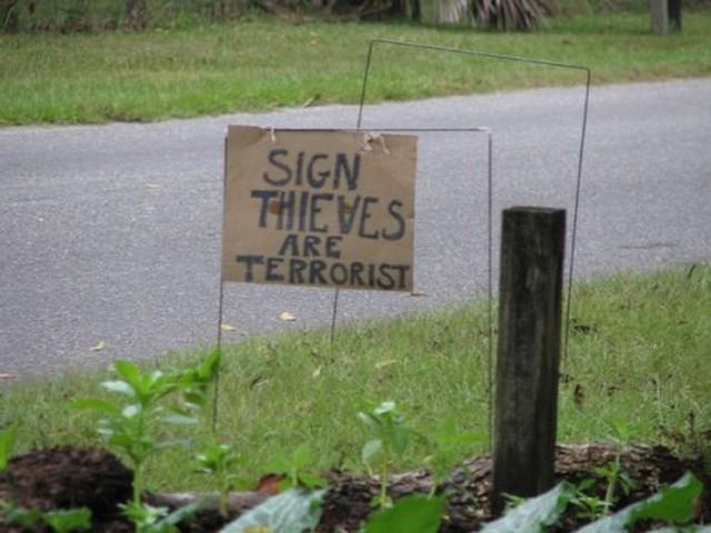 funny sign, bizarre sign