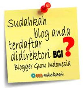 Direktori Blogger Guru Indonesia