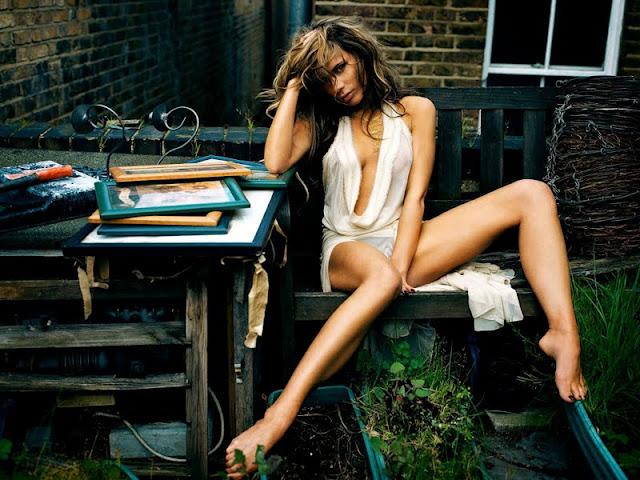 Model Victoria Beckham