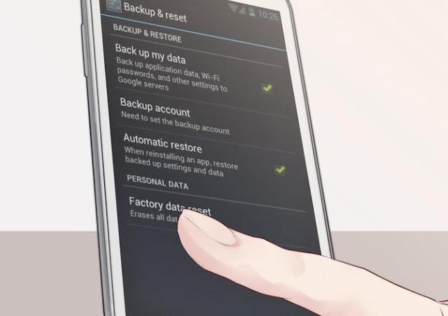 كيفية عمل فورمات للهواتف الكلاكسي  او الاندوريد