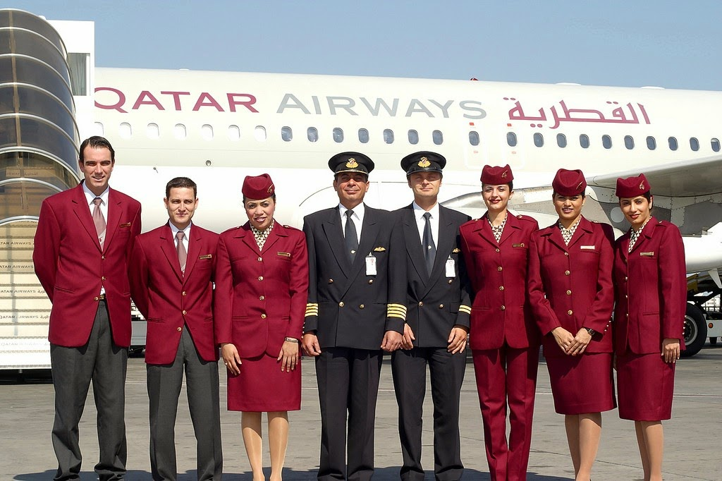 Smile Of Qatar Air Stewardesses World Stewardess Crews