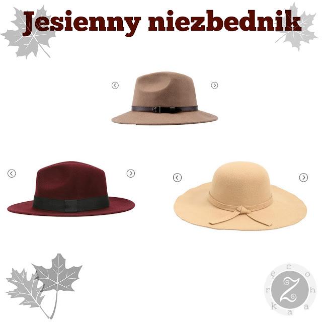 kapelusze na jesień