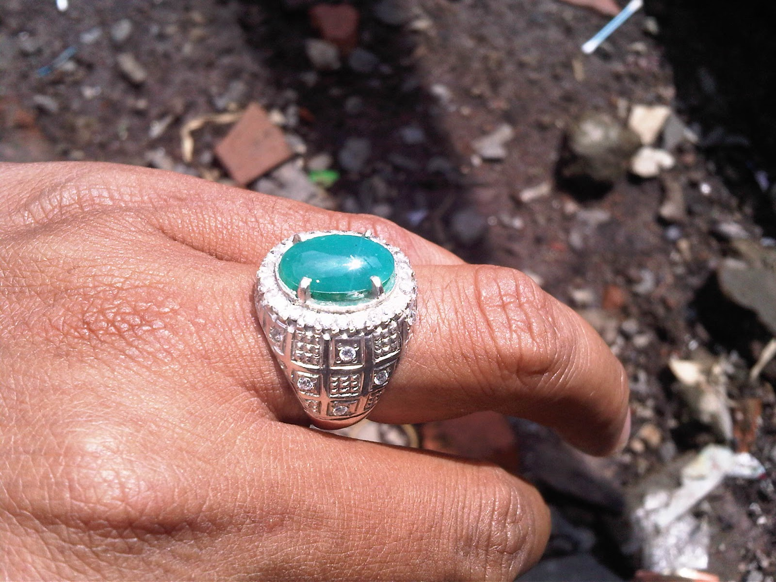 BC78- Batu Bacan Biru Doko...Tanp Flek Hitam...SOLD