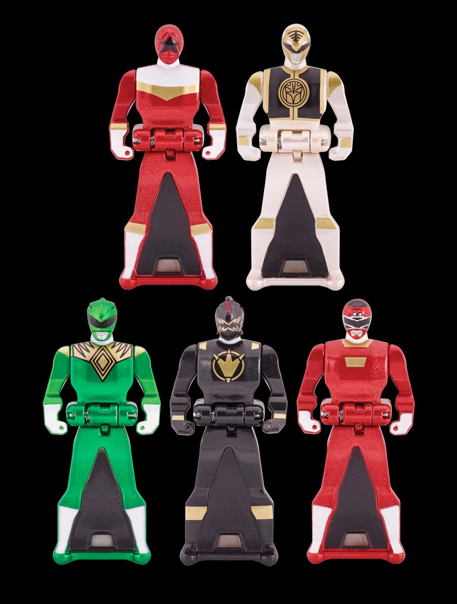 Power Rangers Keys
