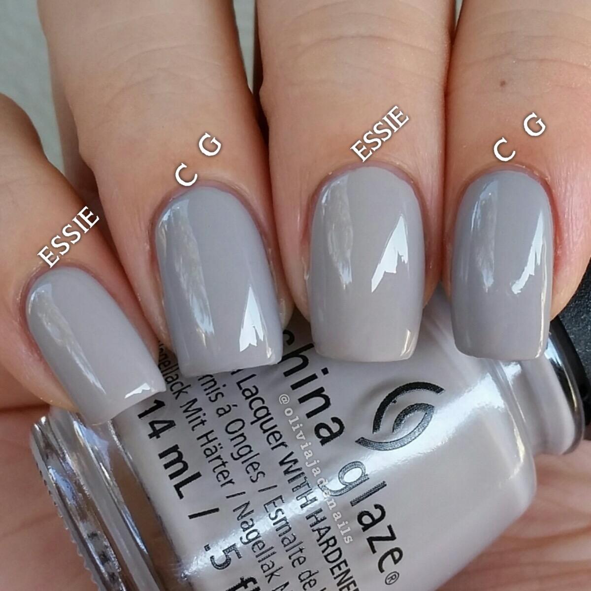 China Glaze Grey Nail Polish: Olivia Jade Nails: China Glaze The Great Outdoors