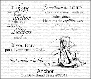 Our Daily Bread Designs, Anchor