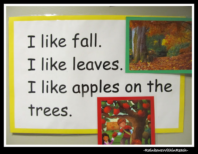 photo of: Simple Rhyme for fall via RainbowsWithinReach