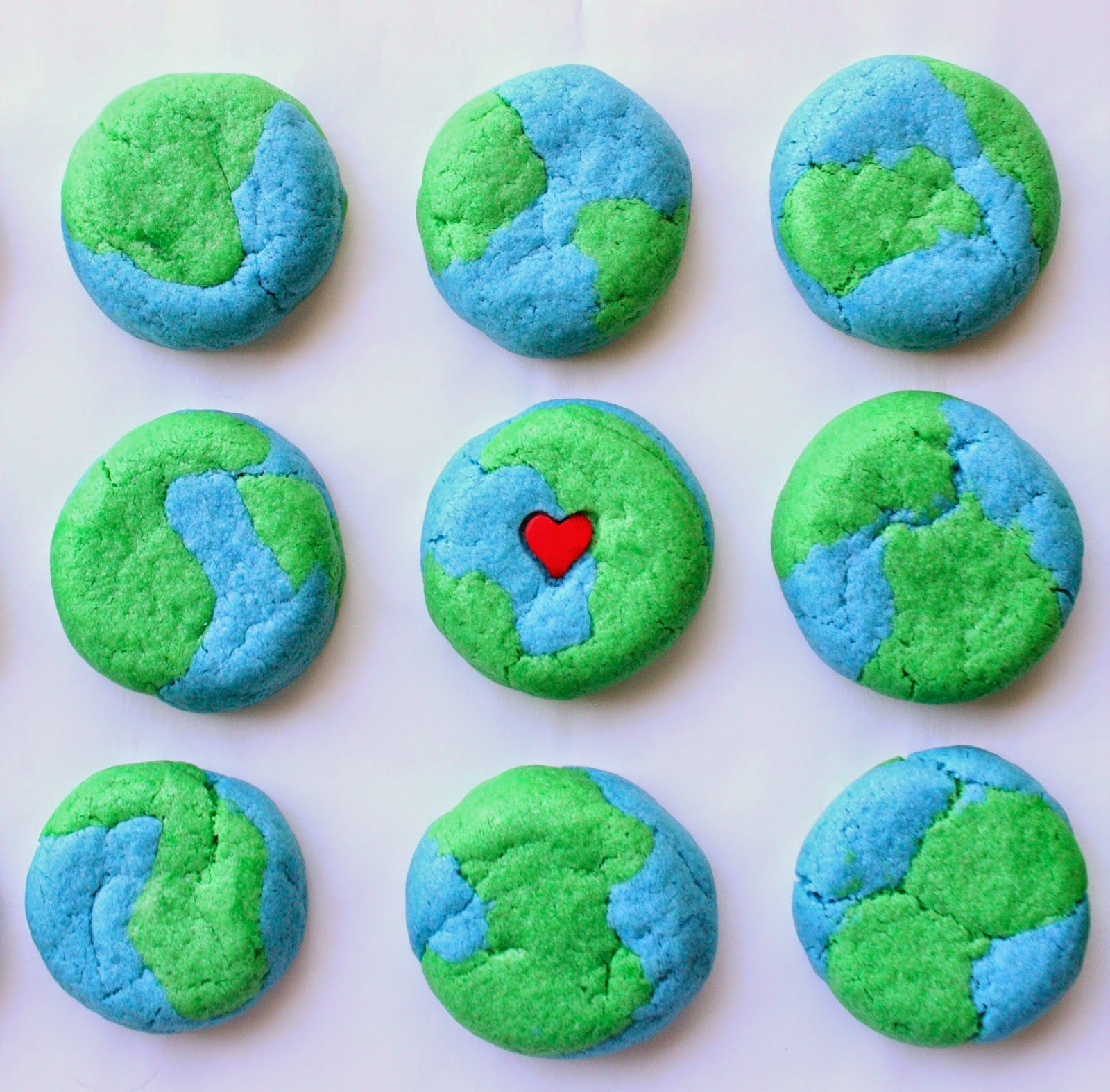 Earth Cake Pops Recipe