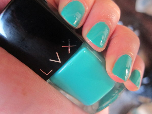 LVX Viridian Nail Polish Swatches