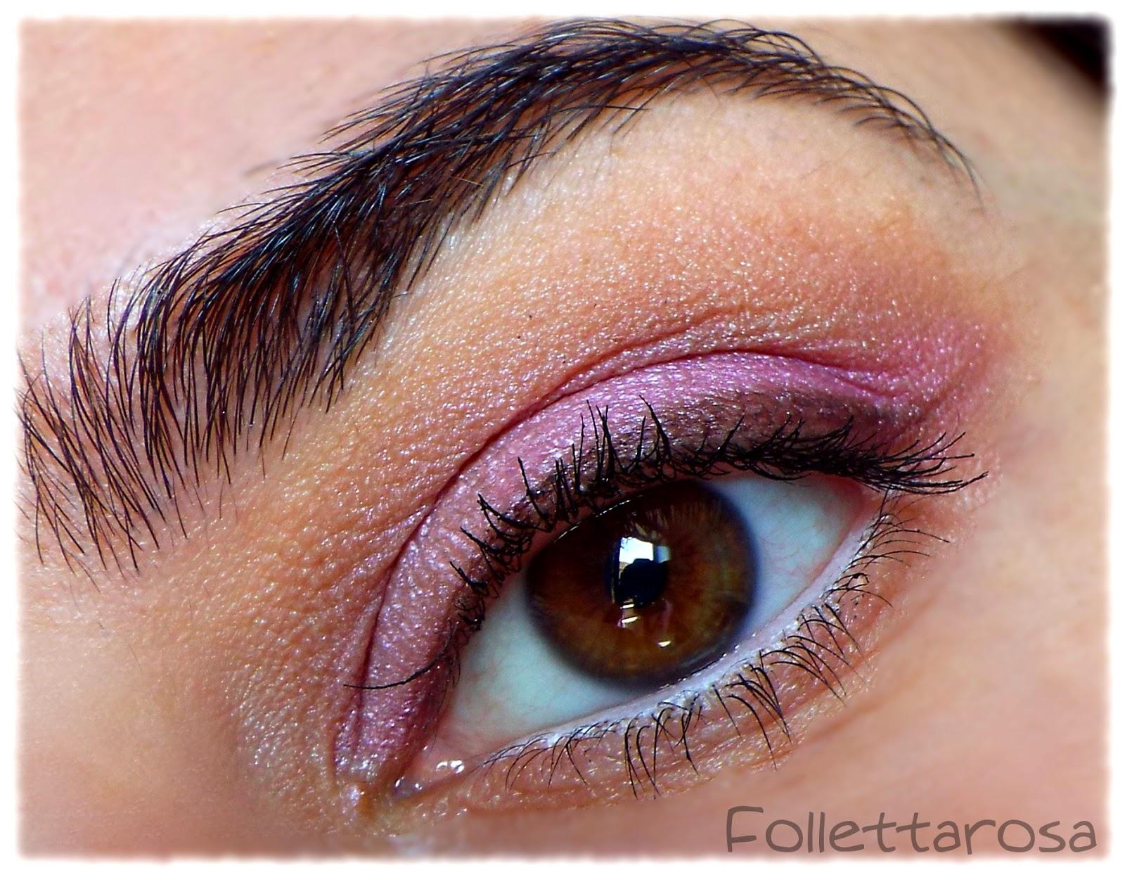 trucco occhi rosa primavera 2015