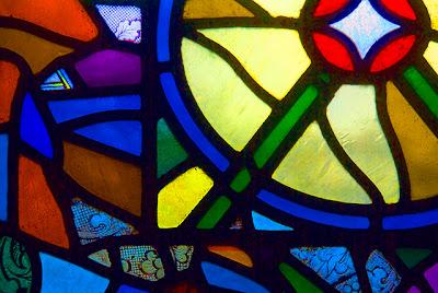 textura cristales decorados a colores
