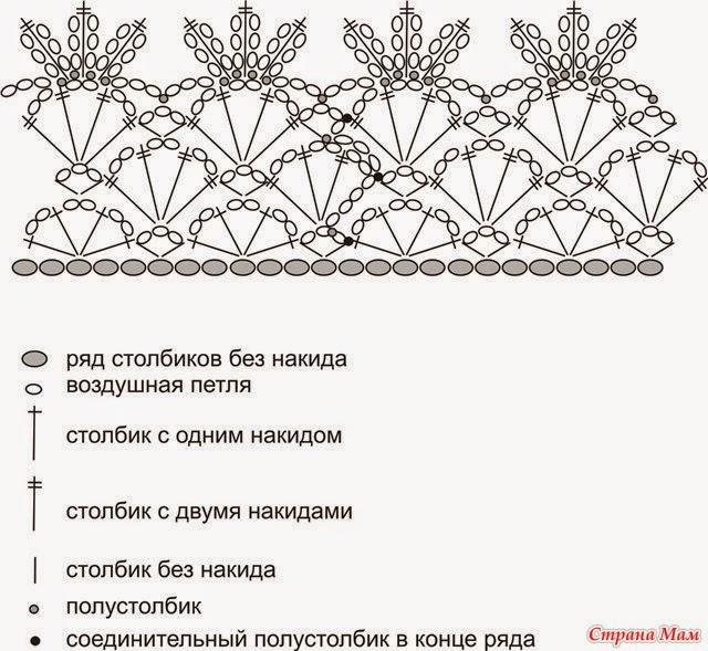 Вязаные цветы съемные