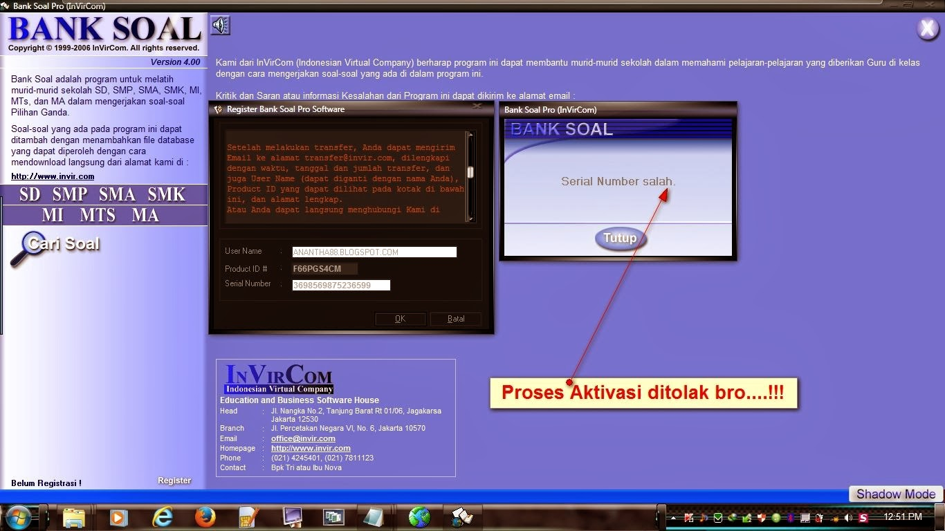 Crack Bank Soal Manager Personal Edition 3 01