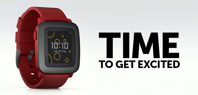 Pebble Time el nuevo Smartwatch de Pebble
