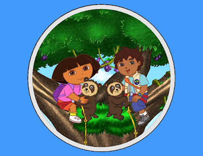 Dora and Diego wallpaper