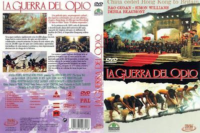 La guerra del opio | 1998 | Yapian zhanzheng (The Opium War) | Cover, Dvd, Carátula...