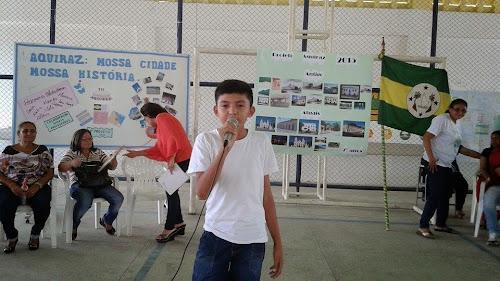 Escola Ernesto Gurgel apresenta o projeto Aquiraz(Fotos)