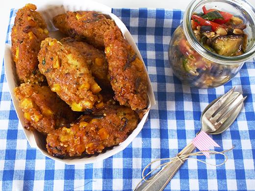 Rezept, Quinoabratlinge, Quinoa, Picknick, vegan, Blog, Foodblog