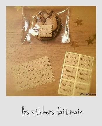 Stickers fait main