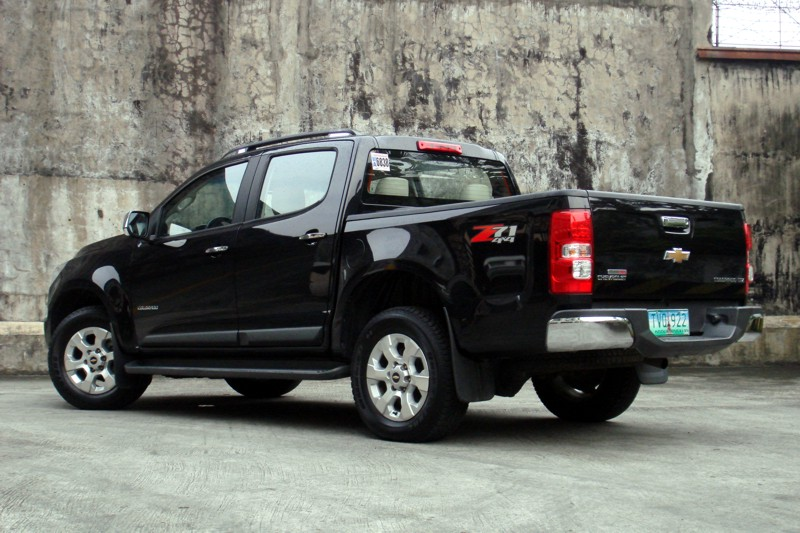 Review: 2012 Chevrolet Colorado LTZ 4x4 M/T