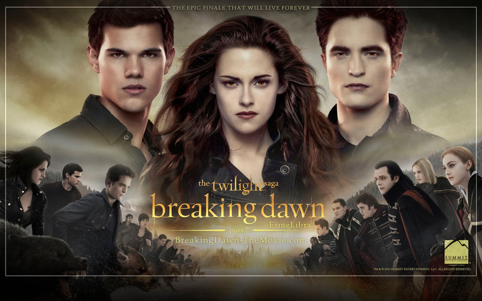 New 'Breaking Dawn Part 2' Desktop Wallpapers