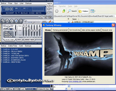 WinAmp Pro 5.70 Build 3392 Full Serial