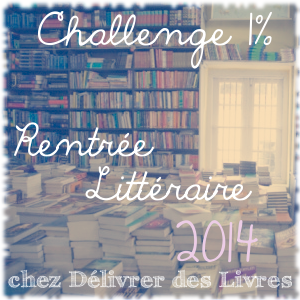 Challenge rentree litteraire