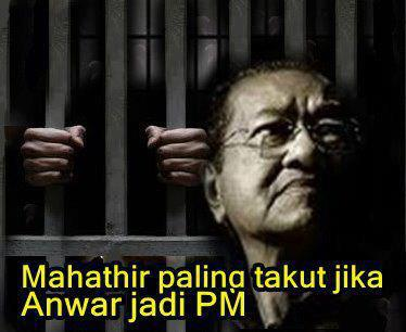 Pilihan raya umum ke-13: Mimpi ngeri Tun Dr. Mahathir bin Mohamad
