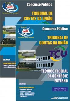 Apostila Concurso TCU 2015 | Impressa e Digital