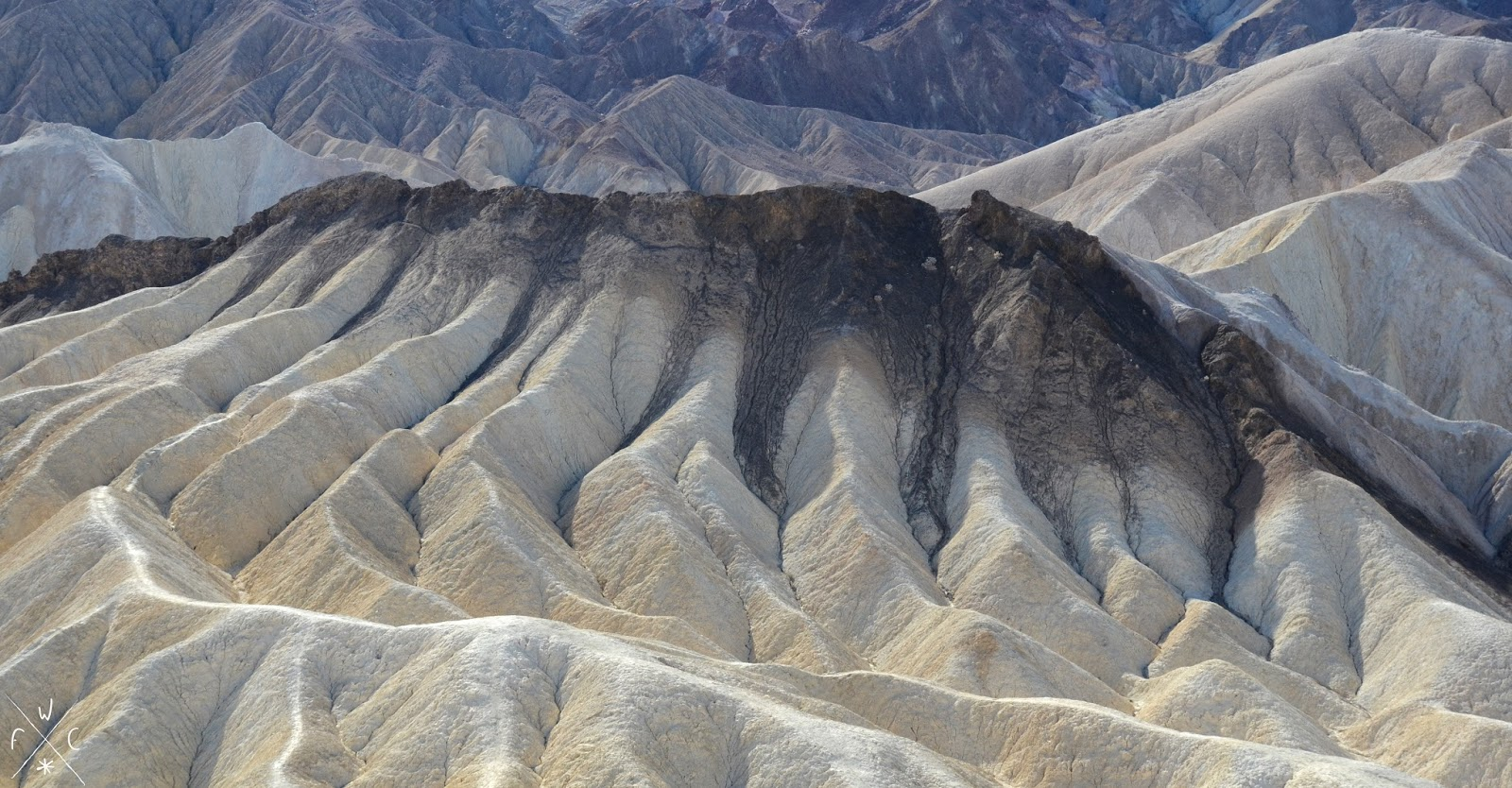 Zabriskie Point, Death Valley National Park, Californie, USA