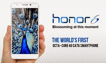 Huawei Honor 6 (4G Phone) with Octacore Processor, 3GB RAM, 16GB ROM, 5″ FHD Touch Screen for Rs.19999 Only @ Flipkart