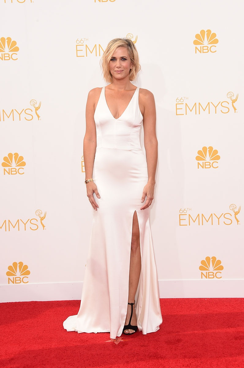 Kristen Wiig in Vera Wang at the Emmy Awards
