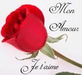 Message d'amour tendre je t'aime