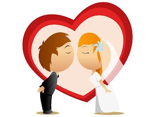 noivinhos para convite de casamento vetor arabesco
