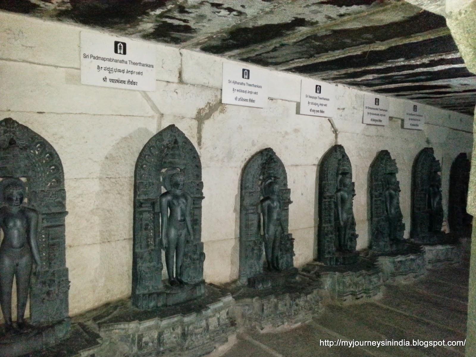 Theerthangars Shravanabelagola